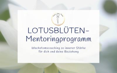 Lotusblüten Mentoringprogramm